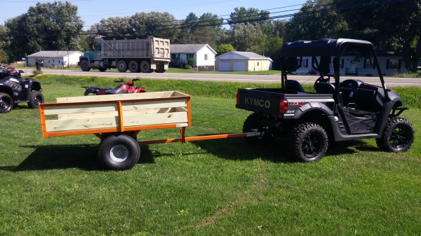 HD off road yard cart.